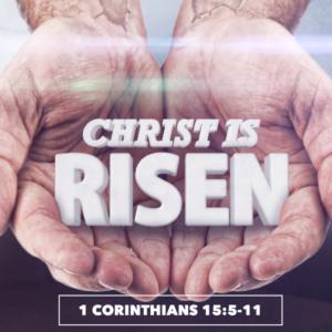 Eyewitnesses Of The Resurrection