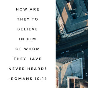 Searching & Spreading | Romans 9:30-10:21