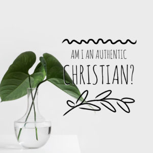Knowing An Authentic Christian | 1 Thess 1:1-5